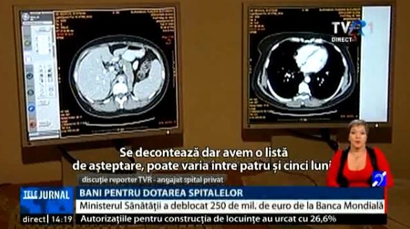 Ministerul Sănătății va cumpăra 24 de aparate RMN. Pentru o investigație decontată sunt liste de așteptare de luni de zile