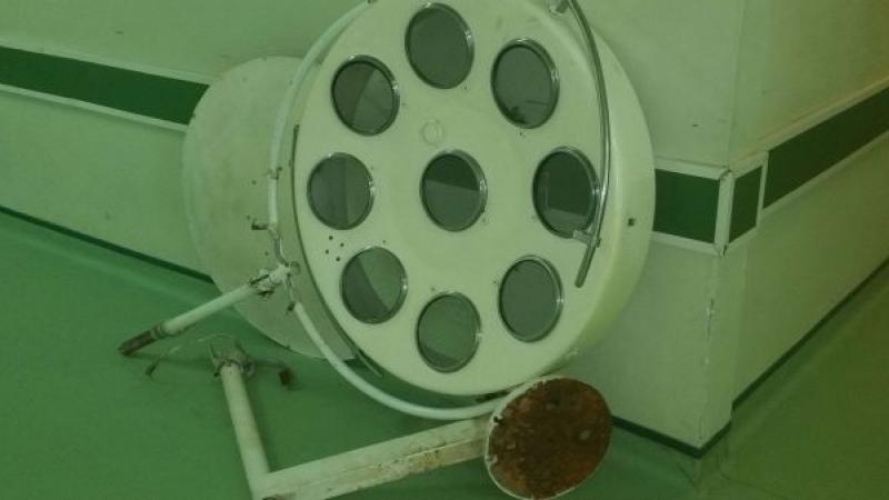 Lampă din sala de operații, schimbată după 44 DE ANI! Medic: E viteza reală a modernizărilor din spitalele românești