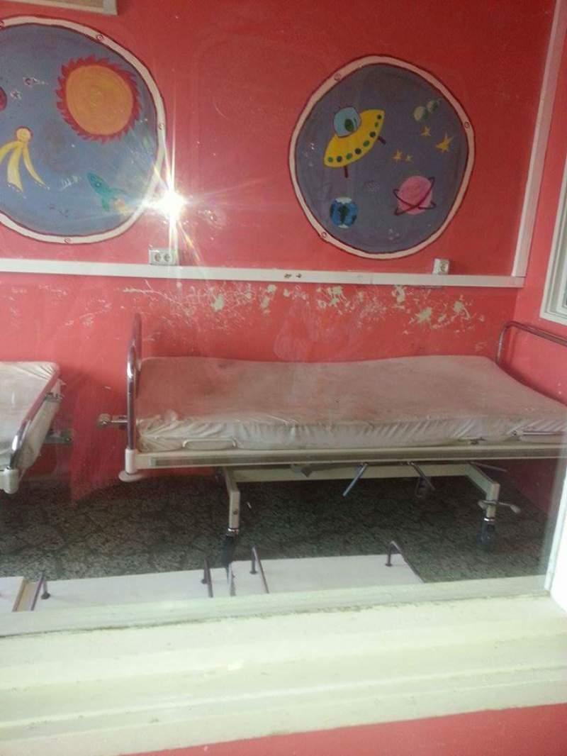Cum arată secția de Pediatrie a unui spital din România. Imaginile groazei, prin ochii unui mame disperate: