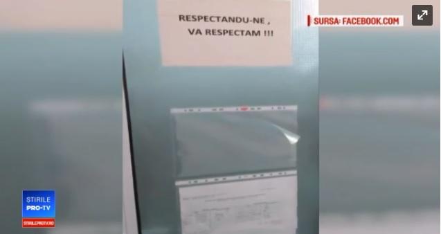 Anchetă la un spital din Galați, după ce o pacientă a filmat viermi într-o baie. VIDEO