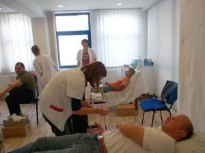 Centru de transfuzii, în pericol de prăbușire